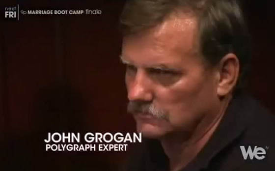 Recognized polygraph expert John Grogan